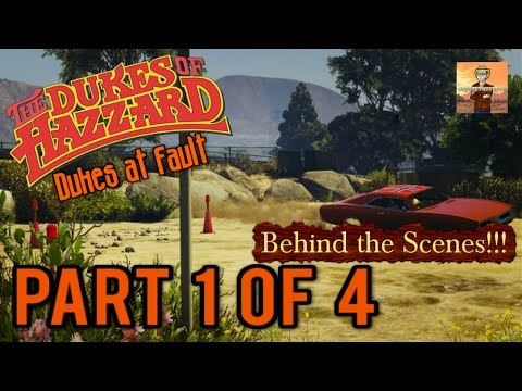 The Dukes of Hazzard Tribute Behind the Scenes Ep. #2: Dukes at Fault BTS Part 1!!! (GTA 5 Gameplay)