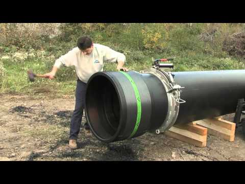Инструкция по монтажу электросварной муфты Д  800 мм модель UB 800