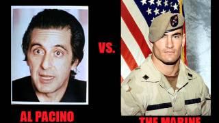 Al Pacino calls a Marine