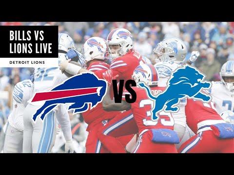Buffalo Bills VS Detroit Lions LIVE Party! Detroit Lions