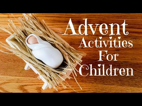 5 ADVENT ACTIVITIES for Catholic Children