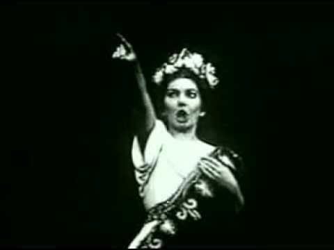 Maria callas norma paris 1964 rehearsal recitativo casta for Casta diva pictures