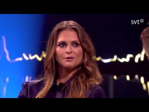 Princess Madeleine of Sweden talks about growing up in the spotlight
