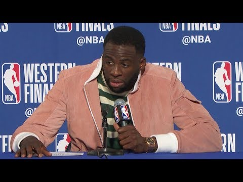 Draymond Green Postgame Interview - Game 3 | Rockets vs Warriors | 2018 NBA West Finals