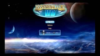 Hyperballoid HD Title Screen (PS3)