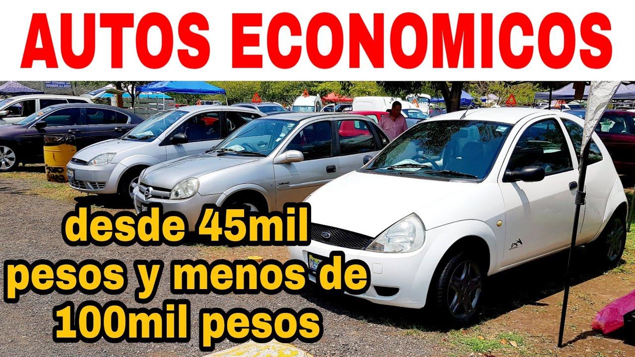 AUTOS BARATOS DESDE 45MIL PESOS tianguis de autos usados en venta zona autos review cars nissan ford