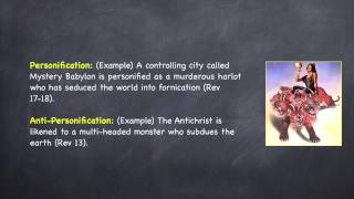 Personification and Anti-Personification (Revelation 13 X)