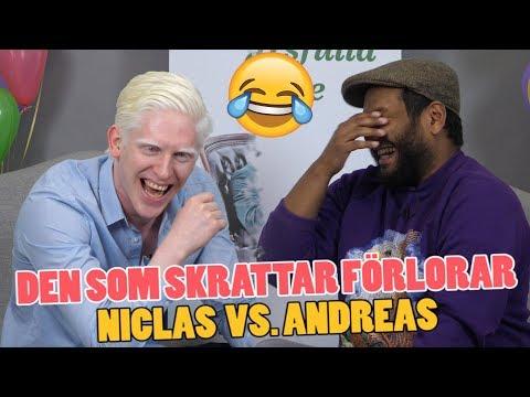 Den som skrattar förlorar – Torra skämt och ordvitsar med Niclas och Andreas