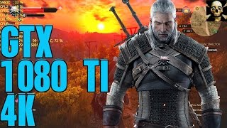 The Witcher 3 Gtx 1080 TI 4K UltraHD Maxed Settings!!  Fps Gameplay