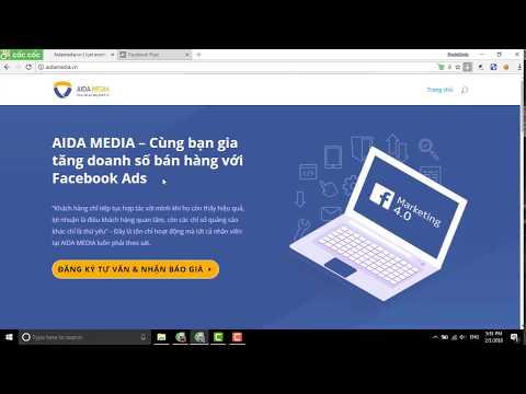 Hướng dẫn cài đặt Pixel Facebook vào website 2018 - Aidamedia.vn