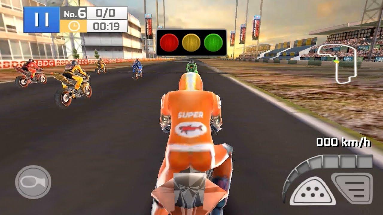 Chơi Game Đua Xe Máy | Real Bike Racing | Chị Kiều Hương