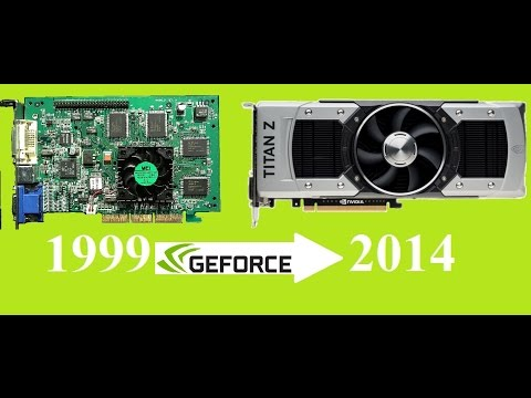 Evolution of NVIDIA GeForce  1999-2014