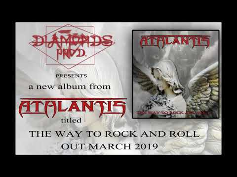 """ATHLANTIS - FORGIVE ME - Promo """"The way to rock and roll"""" album"""