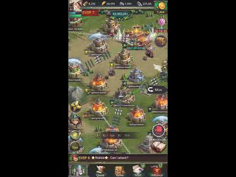 Clash Of Kings, Zeroed Lvl 29 Castle Before KvK