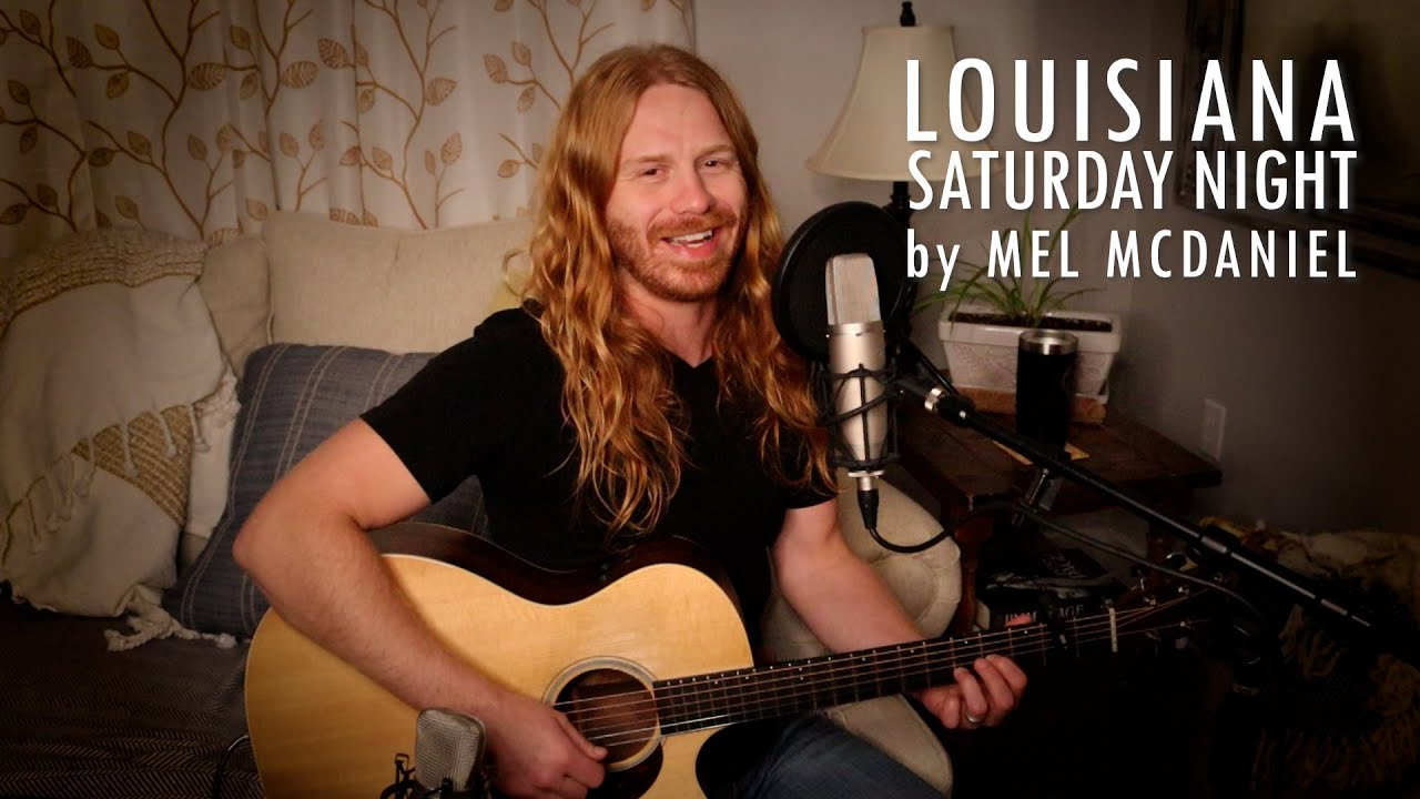 """Louisiana Saturday Night"" by Mel McDaniel - Adam Pearce (Acoustic Cover)"
