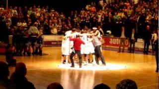 Donar - Gasterra Flames Groningen goes to basketball final 2010