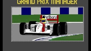 Grand Prix Manager Review for the Commodore Amiga by John Gage