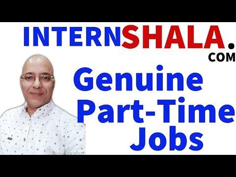 Work from home | Freelancer | Part time job, good income | internshala.com |