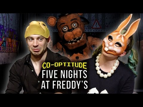 Ryon Day replaced Felicia Day with Jessica Marzipan to play the spooky 4th FIVE NIGHTS AT FREDDY