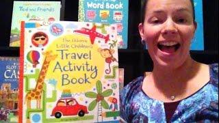 Minute Movie - Little Children's Travel Activity Book