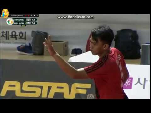 Thailand Vs Malaysia: SEPAKTAKRAW TOURNAMENT 2017 part 1