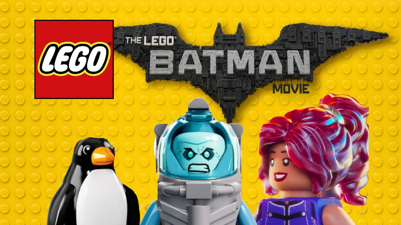 LEGO Batman Movie 2017 sets descriptions! - YouTube