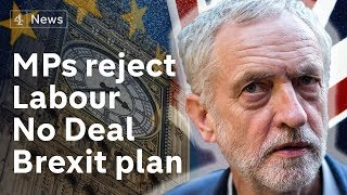 MPs reject Labour motion to prevent no-deal Brexit