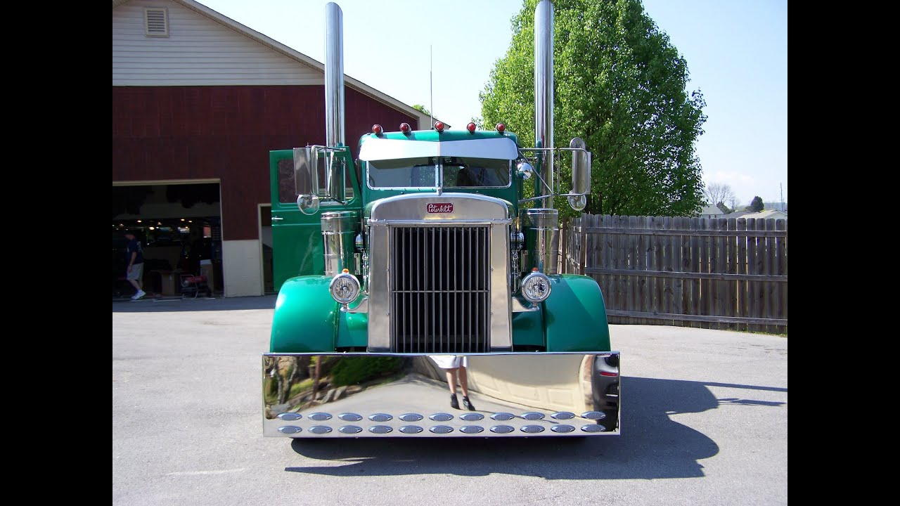 1949 peterbilt show truck rp youtube - Pictures of old peterbilt trucks ...