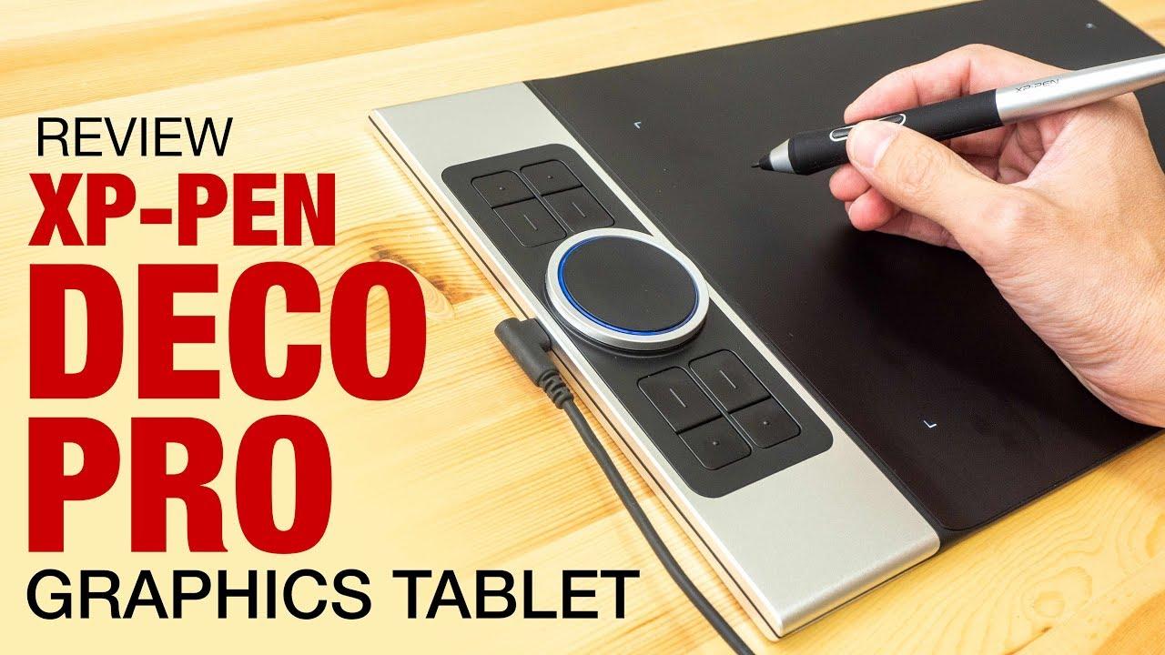 XP-Pen Deco Pro graphics tablet (review) - YouTube