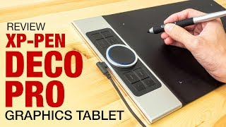 XP-Pen Deco Pro graphics tablet (review)