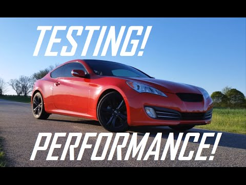 Hyundai Genesis Coupe 3 8 0 60 Youtube