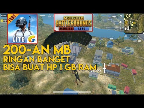 download CUMA 200 MB ! COCOK BUAT HP 1 GB RAM - PUBG MOBILE LITE INDONESIA