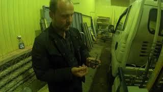 Ta'mirlash Donghae antenna platformalar Moskvada, gearbox kuch-off oling va uni powering bilan bog'liq muammolar