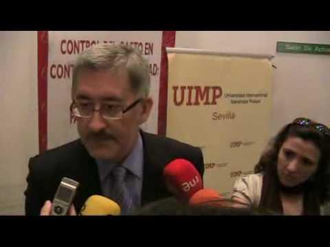 Declaraciones del consejero de Economía en la UIMP Sevilla