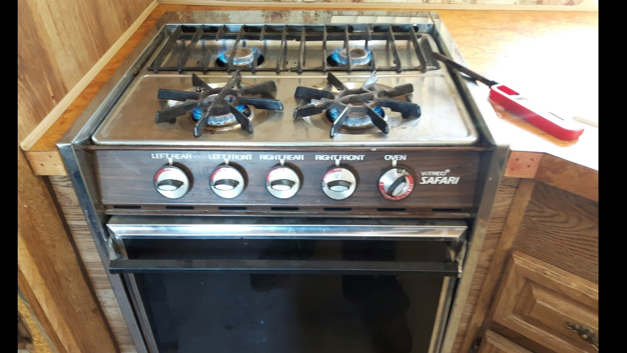 How to use you RV Stove top and Oven