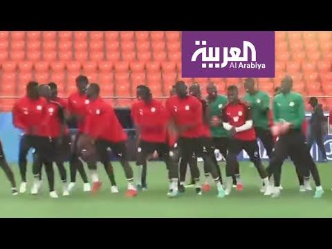 لاعبو السنغال يستعدون لمواجهة اليابان على طريقتهم الخاصة في مونديال #روسيا2018  - 01:20-2018 / 6 / 24