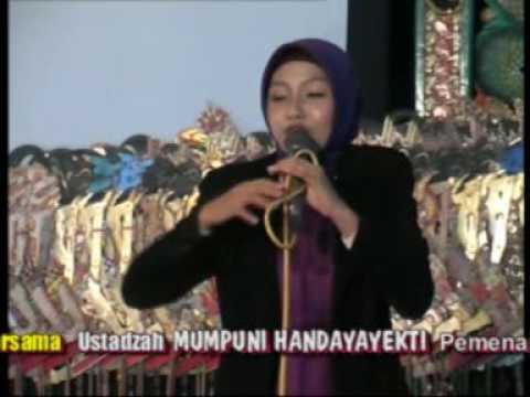PENGAJIAN KOCAK USTADZAH MUDA MUMPUNI HANDAYAYEKTI (AKSI INDOSIAR 2014) - KROYA CILACAP