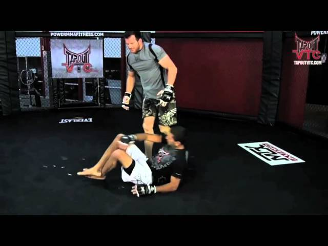 MMA Training: Trip From Double Under Hook with Ryan Bader