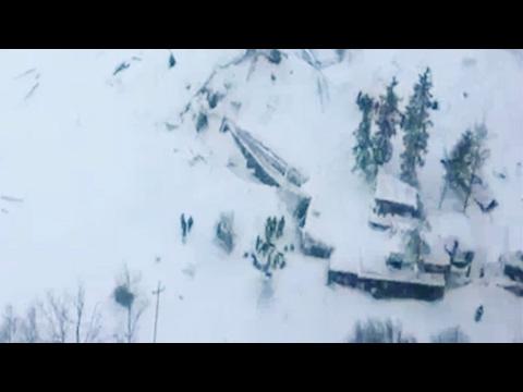 Italy: 30 missing as avalanche hits an Rigopiano hotel near Pescara