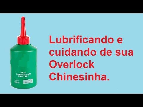 Lubrificando sua Overlock Chinesinha