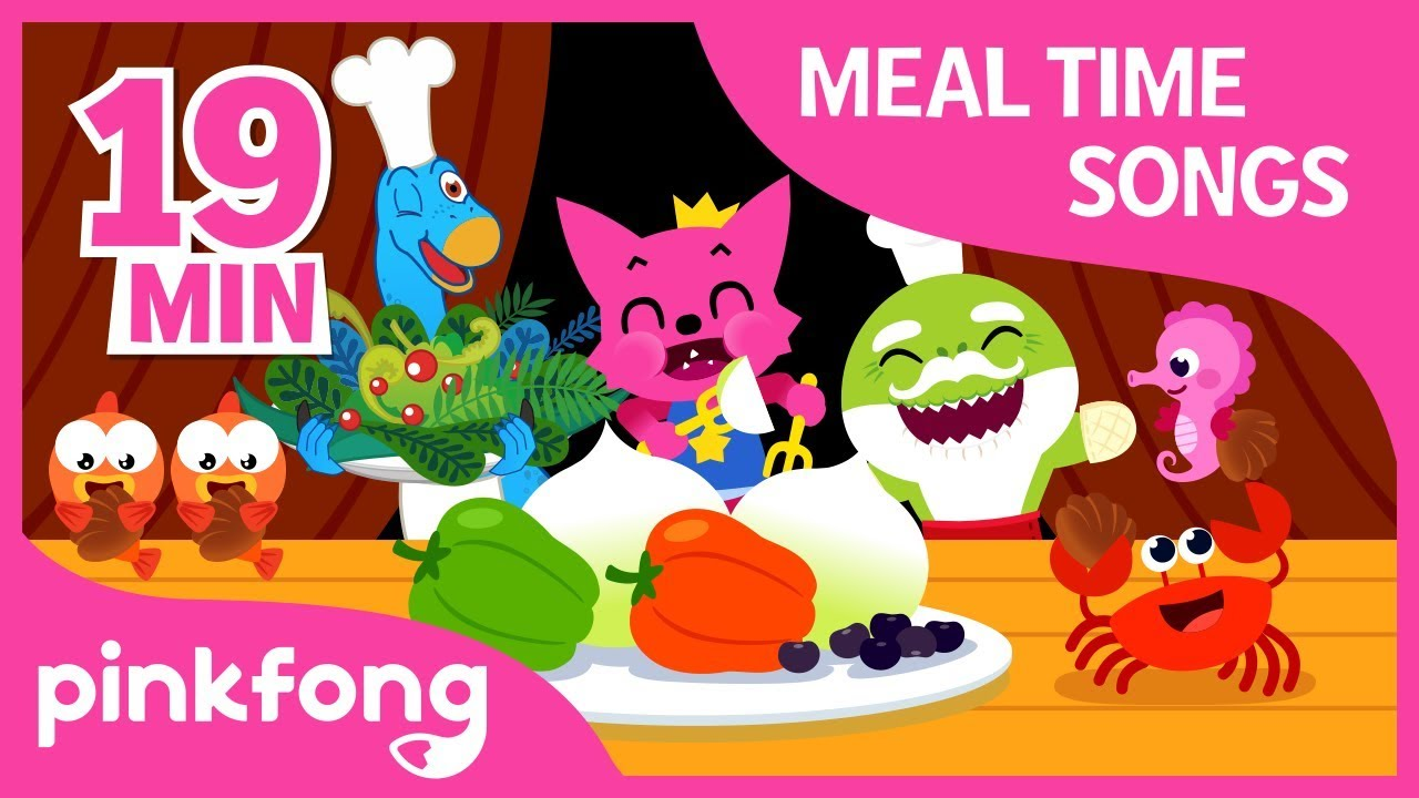 Yum yum, Eat Healthy | Meal Time Song | +Compilation | Pinkfong Songs for Children