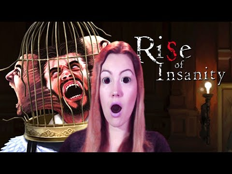 Rise Of Insanity ♠ СУПЕР ХОРРОР ♠ Ужасы/Horror | Женское прохождение на русском