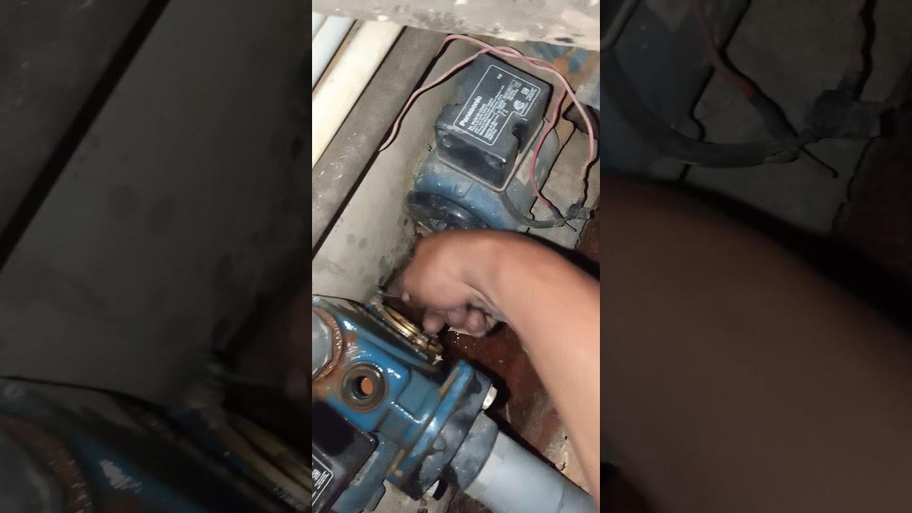 Mengatasi pompa air tidak bisa naik airnya - YouTube