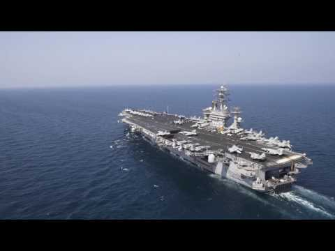 Life Aboard USS Dwight D. Eisenhower - Work and Play
