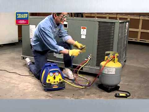 Refrigerant Recovery 4 Push Pull Recovery Youtube