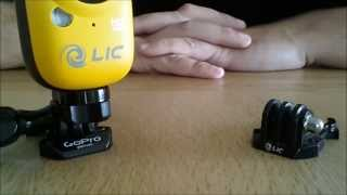 EGO tip#2 - using GoPro accessories on EGO Action Camera (DIY tutorial)