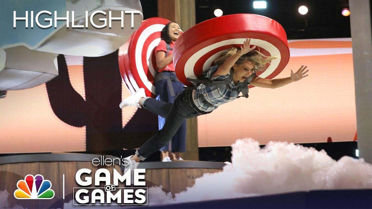 Download Season 2, Episode 9: Knockin' Boots - Ellen's Game of Games (Episode Highlight)