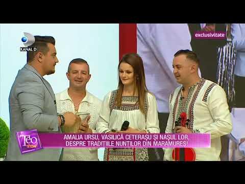 Teo Show (18.07.) - Amalia Ursu, Vasile Ceterasu si nasul lor, despre furatul miresei!
