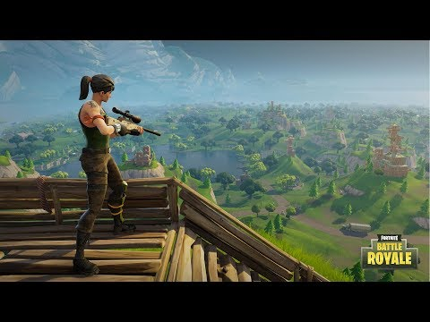FORTNITE    PS4/PC    SKY FORTS    Potato Shooter Going For Top Loot
