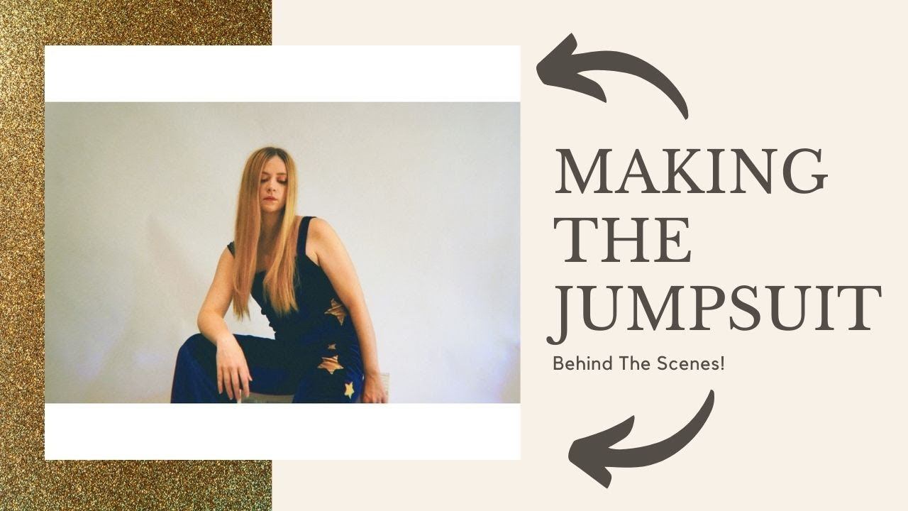 Making the Velvet Jumpsuit- Behind The Scenes